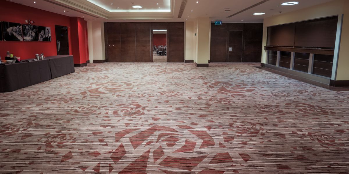 Axminster Carpets at Twickenham Stadium